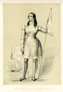 Mary Amelia Huddart as Joan of Arc
