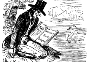 Cartoon from Punch of the Syncretics, 1841