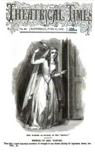 "Mary Warner as Evadne in ""The Bridal"""