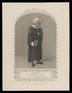 Gustavus V. Brooke as Shylock, 1851