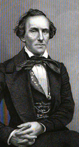 Actor E. L. Davenport, 1851