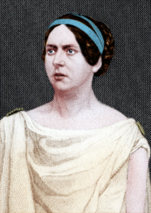 Mary Warner as Hermione, 1850