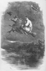 "Illustration from Ainsworth's ""The Lancashire Witches"""