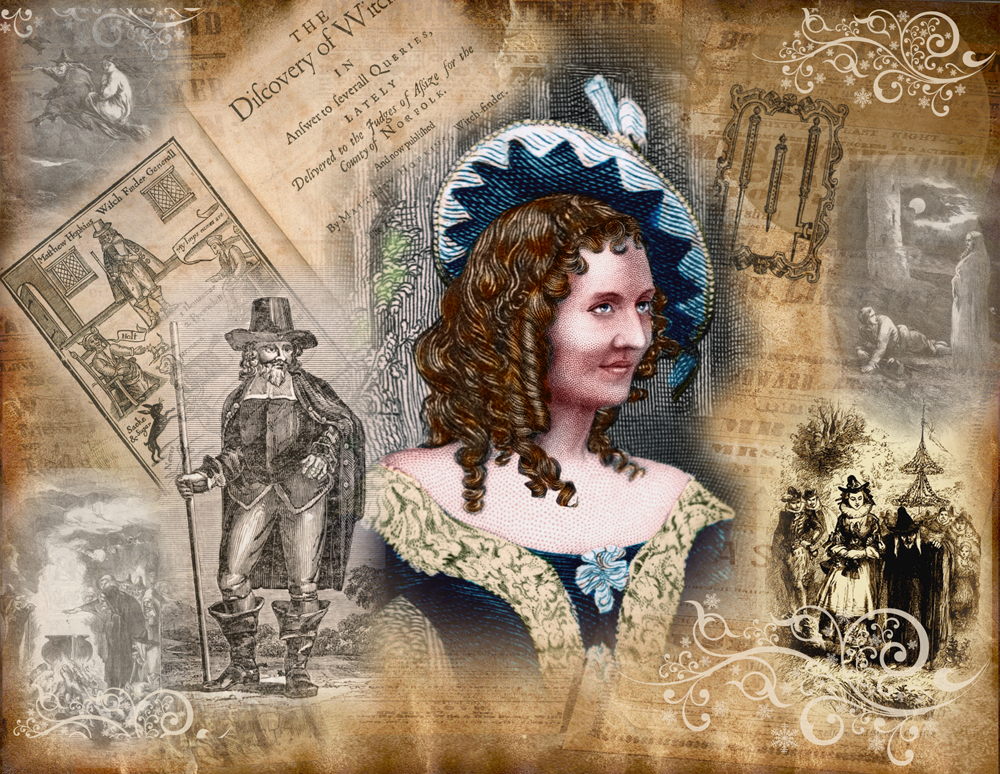 Anna Cora Mowatt and Images of Matthew Hopkins, the Witch-Finder