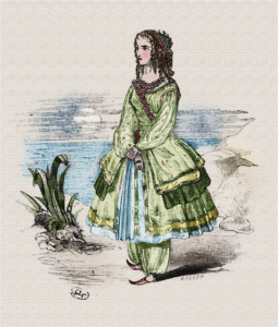 Anna Cora Mowatt as Gulzara