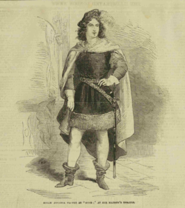 Johanna Wagoner as Romeo in 1856