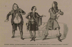 Charles Matthews and Madame Vestris in a production in 1843
