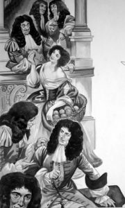 Charles II Meets Nell Gywn by Peter Jackson