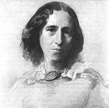 George Eliot by Samuel Laurence