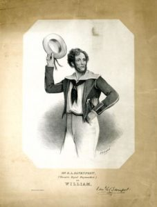"E.L. Davenport as ""William"" in ""The Black-Eyed Susan"""