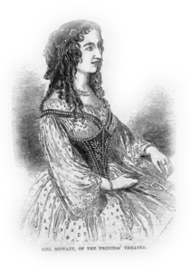 """Engraving of Mowatt from """"The London Illustrated News,"""" 1848"""