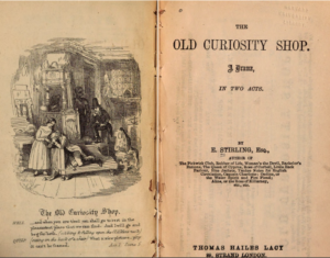 """Edward Stirling's adaptation of """"The Old Curiousity Shop"""""""