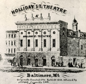 Holliday St. Theatre, Baltimore, MD
